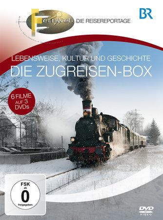 DVD Cover Die große Eisenbahn-Box (3 DVDs) | Heel Verlag