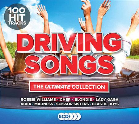 Albumcover Driving Hits - Die besten Songs für unterwegs - 5 CDs | Heel Verlag
