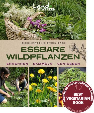 Buchcover Essbare Wildpflanzen - vom Heel Verlag