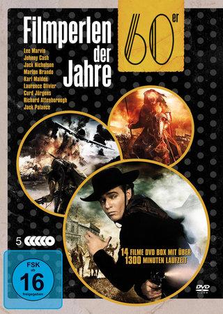 Cover Filmperlen der 60er Jahre auf 5 DVDs | Heel Verlag