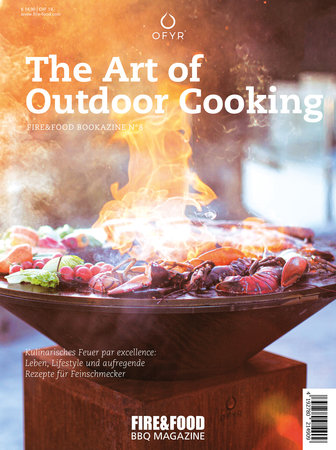 Buchcover Fire & Food - Outdoor Cooking | Heel Verlag