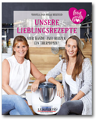 Buchcover Food with Love: Unsere Lieblingsrezepte | Heel Verlag