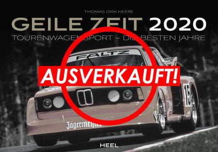 Kalendercover Geile Zeit 2020 vom Heel Verlag