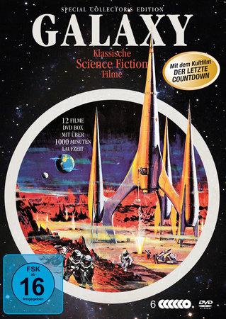 Cover Galaxy: Die Science-Fiction Klassiker DVD-Box | Heel Verlag
