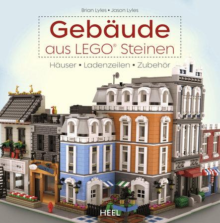 Buchcover Gebäude aus Lego® vom Heel Verlag
