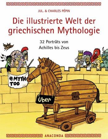 Buchcover Griechische Mythologie in humorvollen Bildern | Heel Verlag