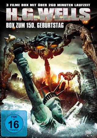 Cover H.G. Wells DVD-Box zum 150. Geburtstag | Heel Verlag