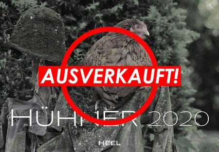 Kalendercover Hühner 2020 vom Heel Verlag