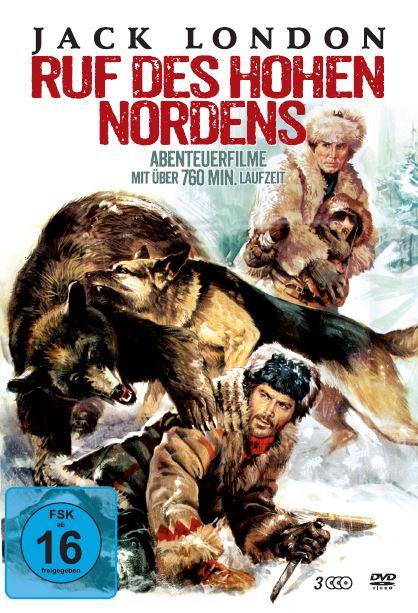 Cover Jack London Box: Der Ruf der Hohen Nordens (3 DVDs) | Heel Verlag