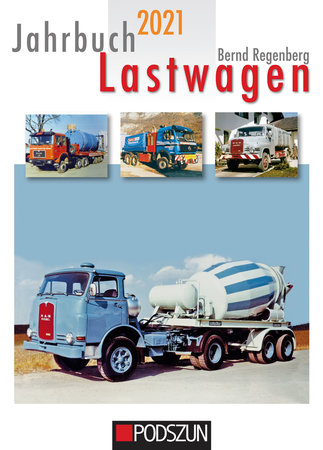 Cover Jahrbuch Lastwagen 2021   Heel Verlag
