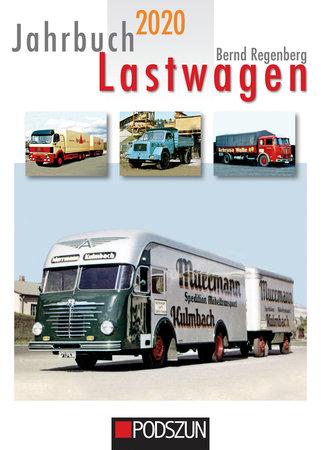 Buchcover Jahrbuch Lastwagen 2020 | Heel Verlag