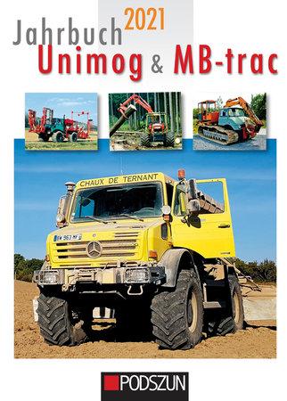 Cover Jahrbuch Unimog & MB-trac 2021   Heel Verlag