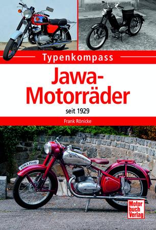 Buchcover Typenkompass Jawa-Motorräder seit 1923 vom Heel Verlag