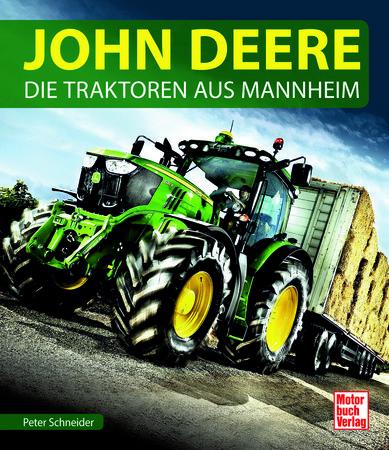 Buchcover John Deere Traktoren aus Mannhiem vom Heel Verlag