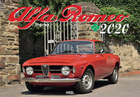 Kalendercover Alfa Romeo 2020 vom Heel Verlag
