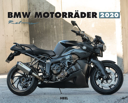 Kalendercover BMW Motorräder 2020 vom Heel Verlag