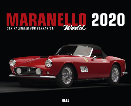 Kalendercover Best of Maranello 2020 vom Heel Verlag