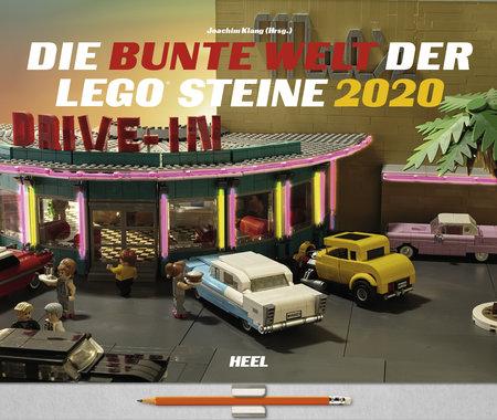 Kalendercover Die bunte Welt der Lego-Steine vom Heel Verlag