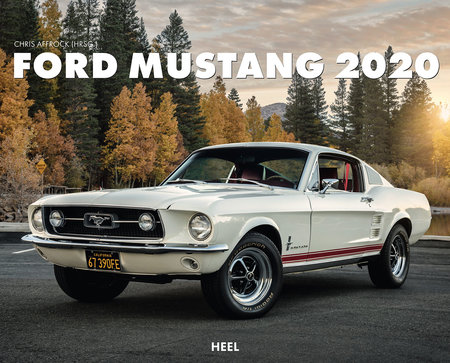 Kalendercover Ford Mustang 2020 | Heel Verlag