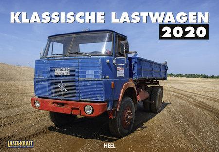Kalendercover Klassische Lastwagen 2020 vom Heel Verlag