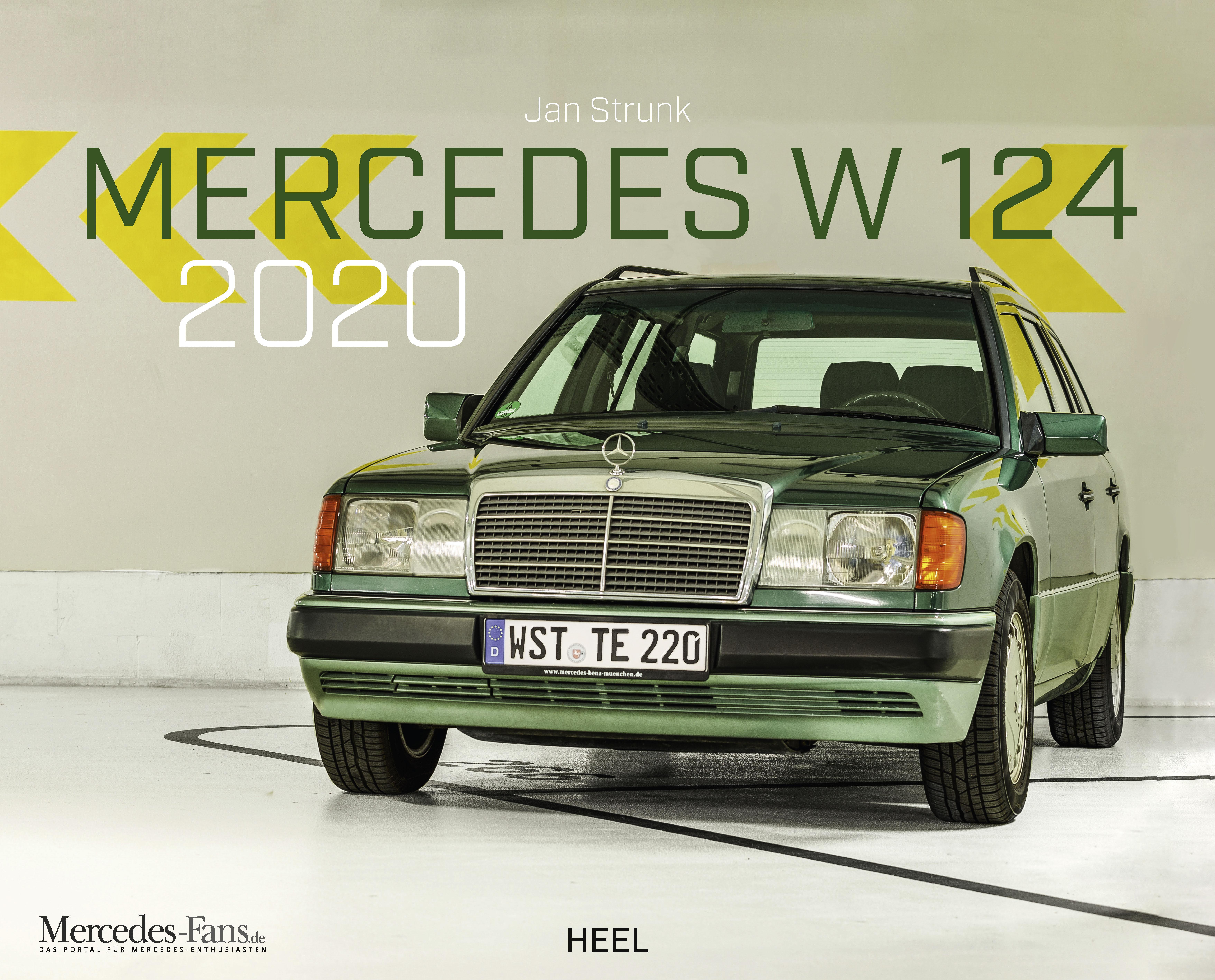 Kalendercover Mercedes Benz W 124 - 2020 vom Heel Verlag