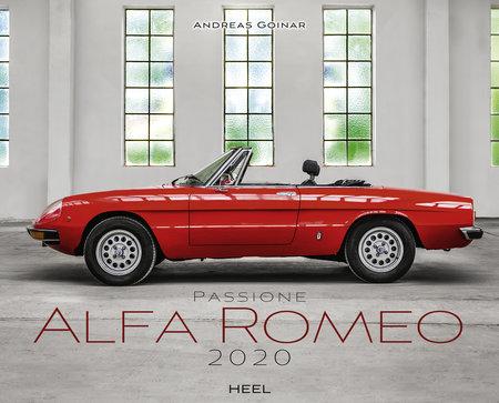 Kalendercover Passione Alfa Romeo vom Heel Verlag
