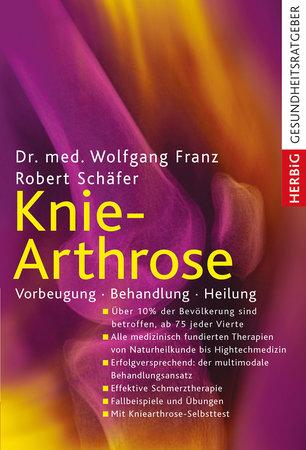 Buchcover Knie-Arthrose - Vorbeugung, Behandlung, Heilung | Heel Verlag