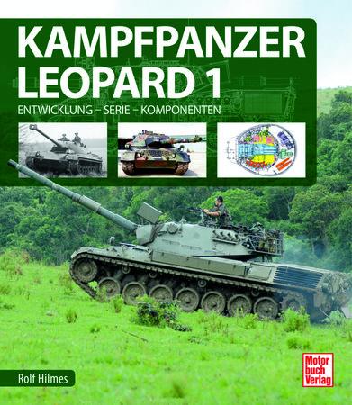 Buchcover Kampfpanzer Leopard 1 | Heel Verlag GmbH