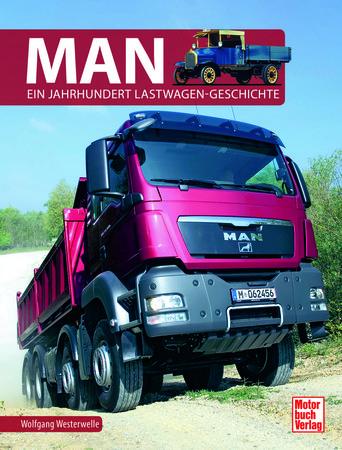 Buchcover MAN - Ein Jahrhundert Lastwagengeschichte | Heel Verlag