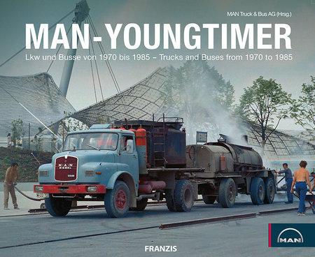 Buchcover MAN Youngtimer vom Heel Verlag