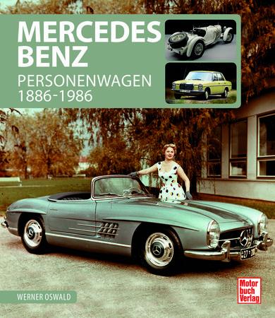 Buchcover Mercedes Benz Personenwagen   Heel Verlag