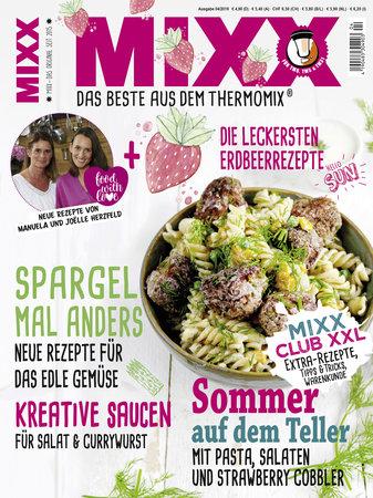 Cover Mixx 4/2019 - Das Magazin für den Thermomix - Heel Verlag