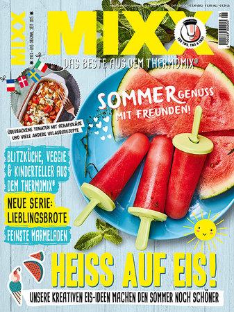 Cover Mixx 5/2021 - Das Magazin für den Thermomix | Heel Verlag