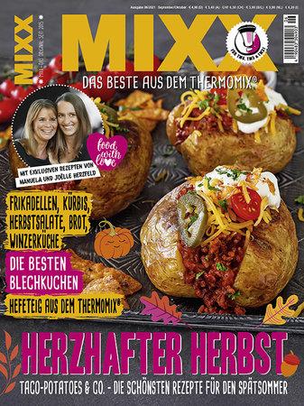 Cover Mixx 6/2021 - Das Magazin für den Thermomix | Heel Verlag