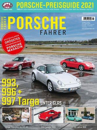 Magazincover PORSCHE FAHRER 5-2021 | HEEL Verlag