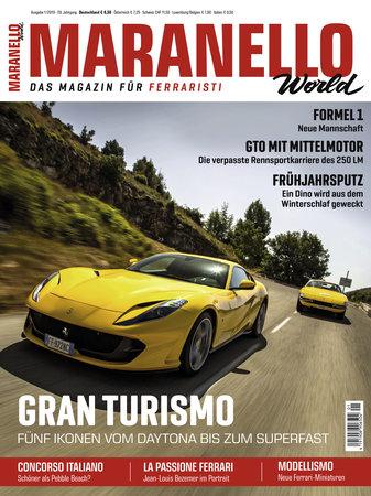 Cover Maranello World 1/2019 vom Heel Verlag