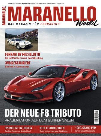 Cover Maranello World 2/2019 vom Heel Verlag