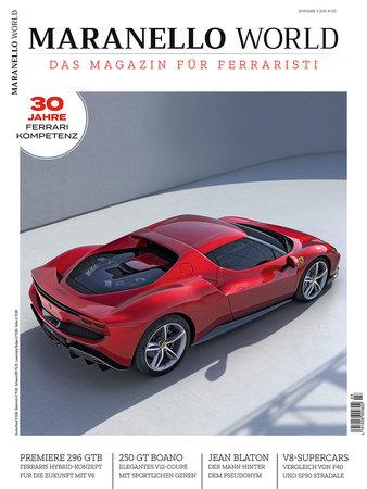 Magazincover MARANELLO WORLD 3-2021   Heel Verlag