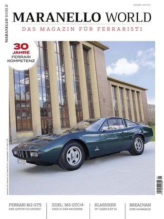 Magazincover MARANELLO WORLD 1/2021 | Heel Verlag
