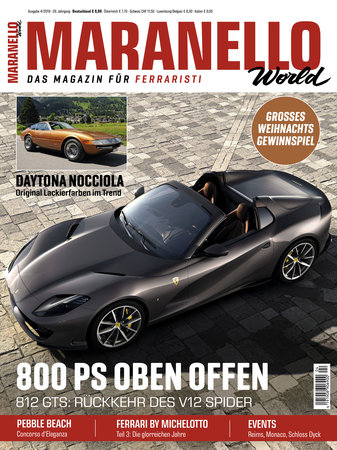 Cover Maranello World 3/2019 vom Heel Verlag