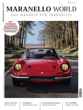 Magazincover MARANELLO WORLD 2-2020 | Heel Verlag