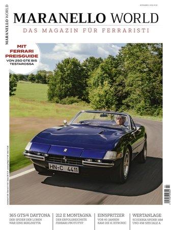 Magazincover MARANELLO WORLD 2/2021 | Heel Verlag