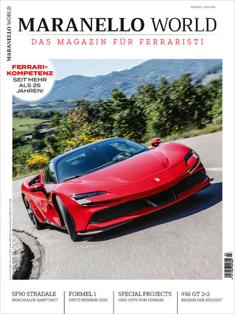 Magazincover MARANELLO WORLD 3-2020 | Heel Verlag