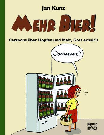 Buchcover Gott erhalt's - Cartoons über Hopfen und Malz | Heel Verlag