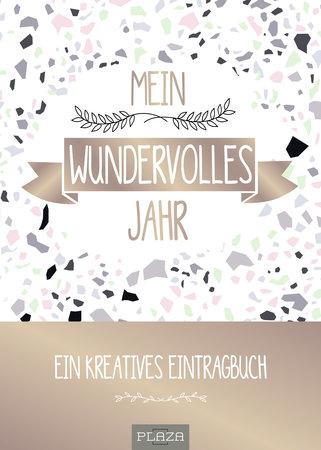 Buchcover Mein wundervolles Jahr - Ein kreatives Eintragbuch vom Heel Verlag