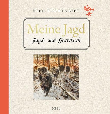 Buchcover Meine Jagd: Jagd- und Gästebuch vom Heel Verlag