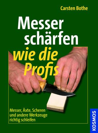 Buchcover Messer schärfen wie die Profis | Heel Verlag