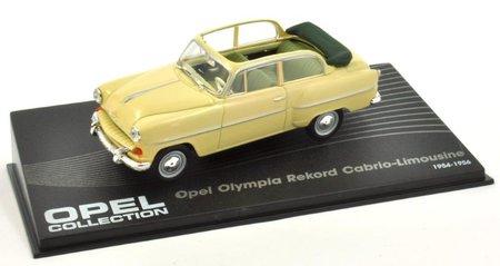 Artikelbild Modellauto Opel Olympia Rekord im Maßsstab 1:43   Heel Verlag