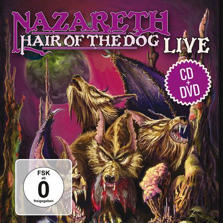 Albumcover Nazareth - Hair of the Dog (CD & DVD) | Heel Verlag