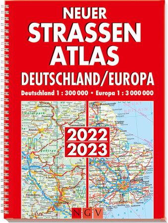 Straßenatlas Deutschland & Europa 2022/2023 | Heel Verlag